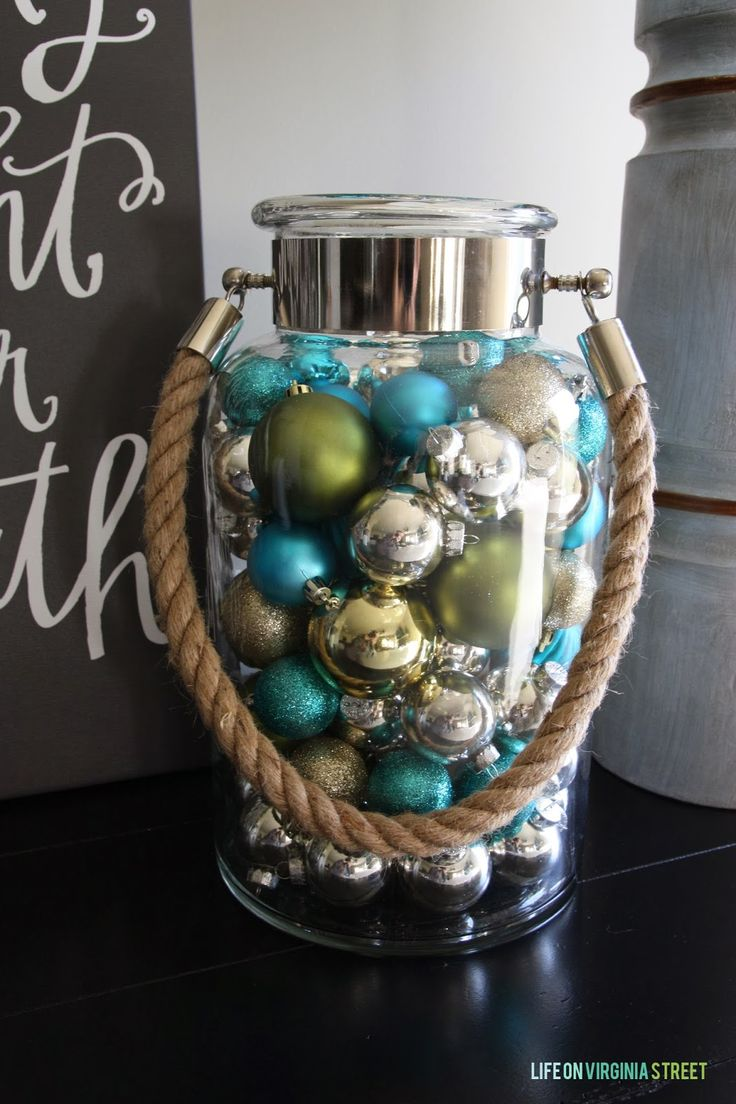 Nautical Jar with Holiday Flare