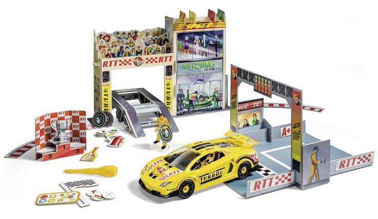 tiptoi Spielwelt Autorennen mit Revell Auto
