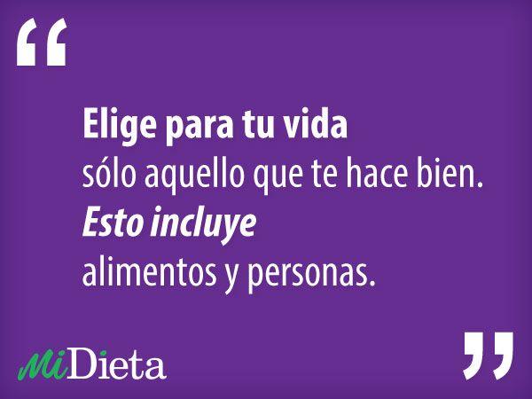 Las mejores frases sobre #dieta :)