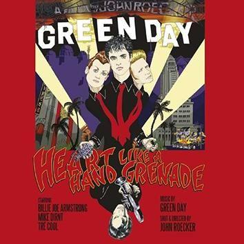 "DVD dei #GreenDay intitolato ""Heart Like A Grenade""."