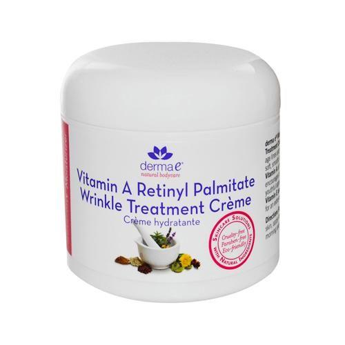 Derma E Refining Vitamin A Creme - 4 Oz<br><b>Size :  </b>4 OZ<br><b>Pack of : </b>1<br><br><b>Product Selling Unit : </b>Each