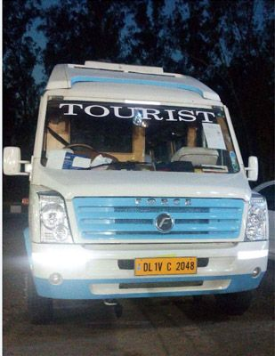 20 seater tempo travellers come if in royal tourist vehicle category and have 20 push back comfortable seat for relax feeling. Available ample space is in 20 seater tempo traveller for luggage and other purpose during journey also Has Separate Huge Luggage Space on Back Side.