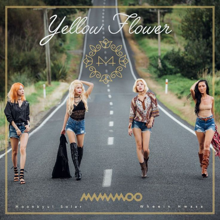 Mamamoo Yellow Flower (2nd Ver.) by kattwitt on