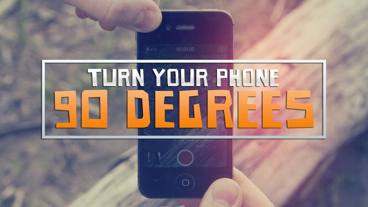 'Turn Your Phone 90 Degrees', An Amusing Music Video About the Virtues of Filming Horizontally Rather Than Vertically