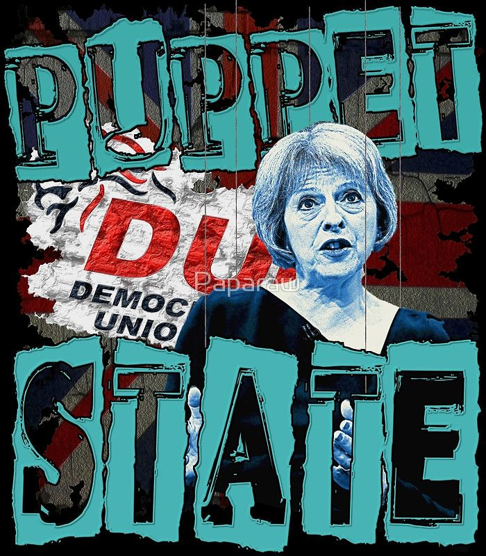 """""""PUPPET STATE"""" Posters by Paparaw   Redbubble"""
