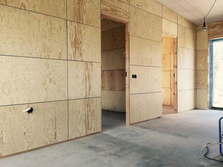 Plywooden ska vitlaseras, NybyggarAnda