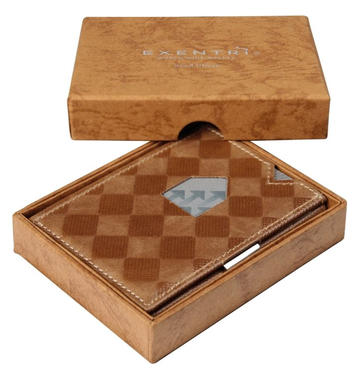 Exentri portemonnee - Zand Chess | Exentri portemonnee | SKOEQ - The men`s shop