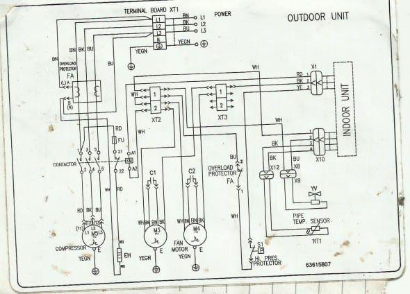 carrier split ac wiring diagram nissan altima fuse diagram