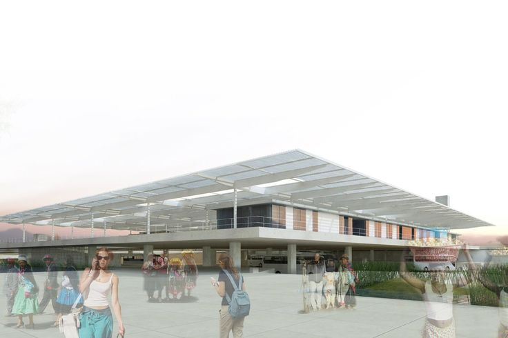 Galería de Segundo Lugar Concurso Nacional Terminal Terrestre en Majes, Perú - 8