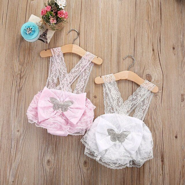 Vintage bloomer romper newborn coming home outfit baby shower gifts my first birthday outfit pink and silver lace bloomers suspenders cake smash outfit