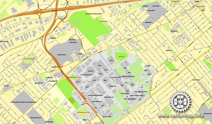 Pdf map quebec canada printable vector street city plan map pdf map quebec canada printable vector street city plan map full editable adobe pdf full vector scalable editable text format street names sciox Gallery