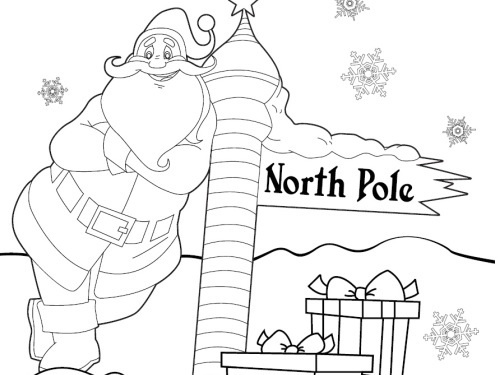 Free Christmas Coloring Book To Download