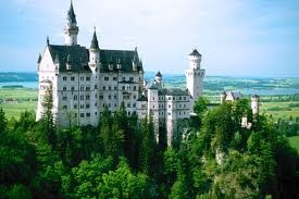 New Schwanstein was the model for the Disneyland hotel according to our tour guide here!
