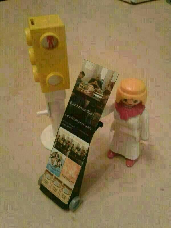 Lego public witnessing >>>>> This is awesome!!!