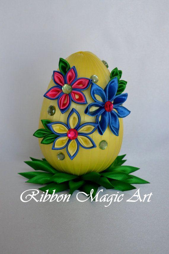 Easter eggs Foam Easter Eggs Easter decoration by RibbonMagicArt