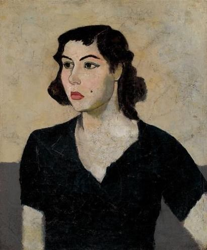 Nuri Iyem / woman in black