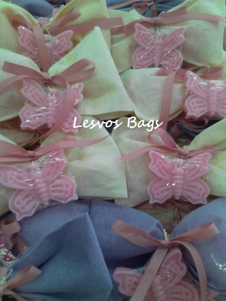 bow with butterfly soap