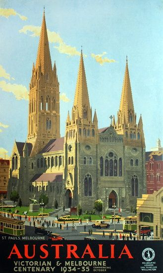 Victorian And Melbourne Centenary 1934-35, St Paul's [Cathedral]