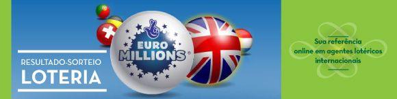 Resultados último sorteio da loteria Euromillions | EuroMilhões