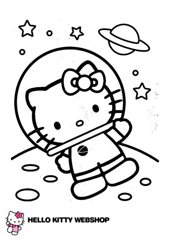 Hello Kitty Head Coloring Pages : Best images about coloring pages hello kitty on
