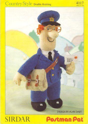 "Sirdar Postman Pat Toy Doll designed by Alan Dart Knitting Pattern: Height 15"" 38"" by Alan Dart, http://www.amazon.co.uk/dp/B004CK7FWU/ref=cm_sw_r_pi_dp_wNMitb18HEVEM"