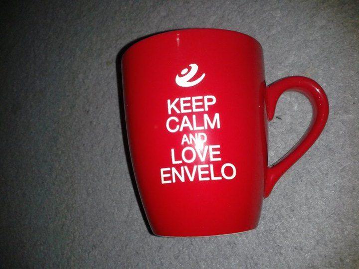 Paczka niespodzianka za aktywność w kampanii #envelo właśnie odebrana od kuriera . Bardzo dziękuję