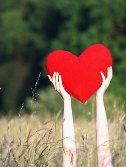 The Bright Red Heart .... ❤