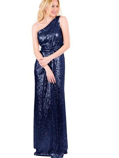 Long bridesmaid dress,Colorful Sequined Bridesmaid Dresses,Sparkly Bridesmaid Dress,Best Sales bridesmaid dress,One Shoulder bridesmaid dress,PD211150