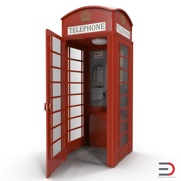British Red Telephone Box 3d model  http://www.turbosquid.com/3d-models/max-british-red-telephone-box/951702?referral=3d_molier-International