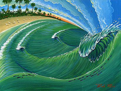 #surfart que nos encanta. Festival de Salinas Surf Music and Friends. #surfmusicandfriends http://surfmusicandfriends.com
