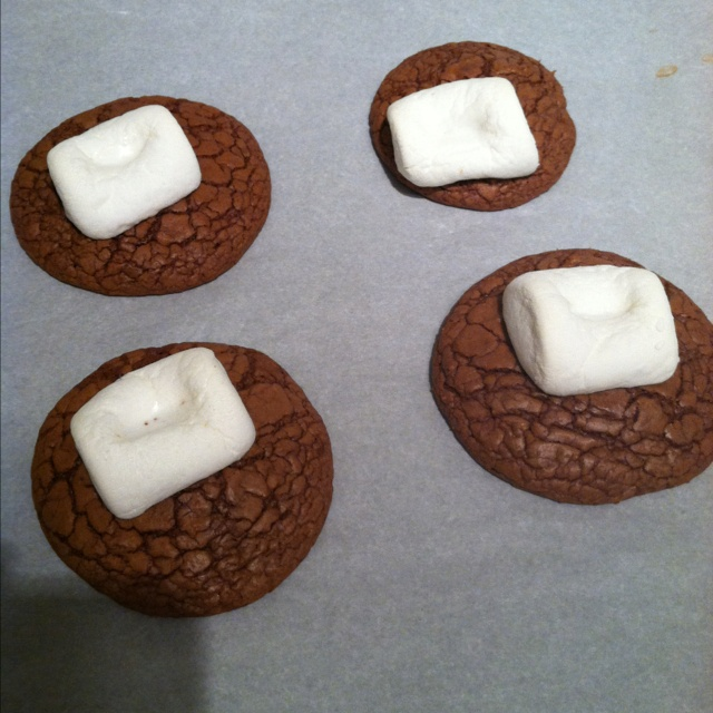 Hot coco cookies Yummy!