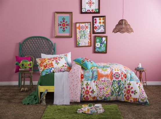 Kids Ivy Quilt Set from KAS, available at Forty Winks.