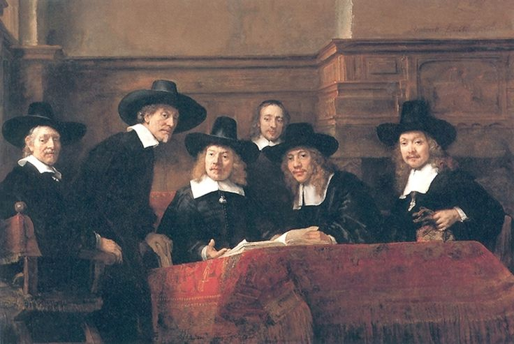 The Syndics by Rembrandt