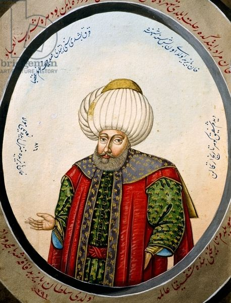 Portrait of Suleiman II
