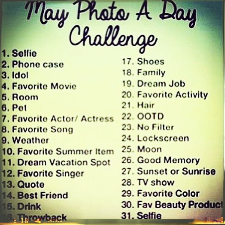 may photo a day challenge u2013 instagram
