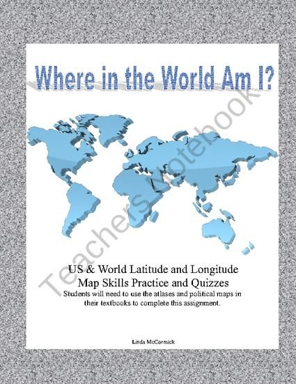 74 best teaching geography map skills images on pinterest where in the world and usa am i using latitude and longitude geography mapgeography gumiabroncs Gallery