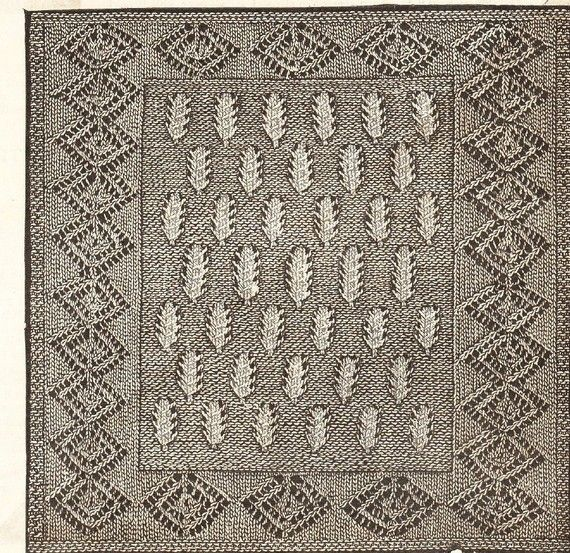 Knitting Vintage Things : Best motifs and squares vintage knitting crochet
