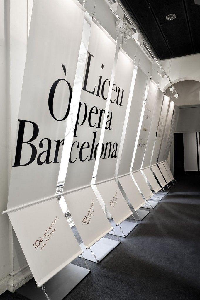 signage, Liceo Ópera Barcelona | Cadaval & Solà-Morales