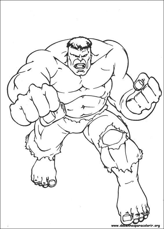 Desenhos Do Hulk Para Colorir E Imprimir Superhero Coloring Pages Hulk Coloring Pages Superhero Coloring