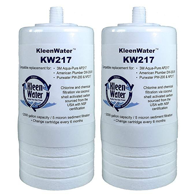 Kleenwater Aqua Pure Ap217 Compatible Filters Kw217 Replacement