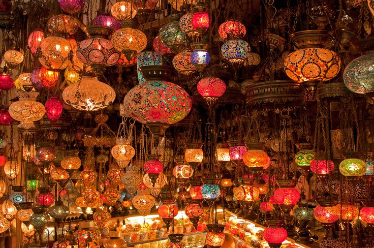 Vai para Istambul? Então uma dica: passar no Grand Bazaar, o maior mercado coberto do mundo!