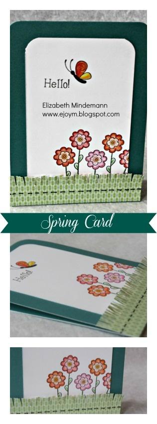 Broken Treasures: Spring CTMH Card