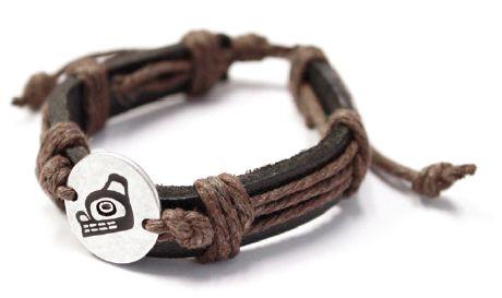 Leather Bracelet - Bear by Ben Houstie
