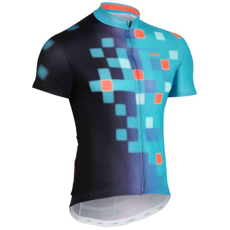 wiggle.com.au | dhb Blok Short Sleeve Jersey - Pixel | Short Sleeve Jerseys