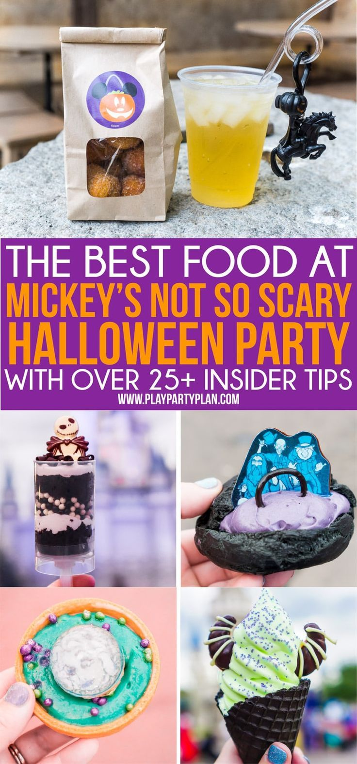Disney Halloween Food Guide 2020 Ultimate Guide to 2020 Mickey's Not So Scary Halloween Party