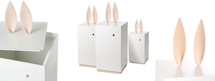 Rabbit storage box by Lindblom & Lindström for Heirloom