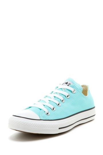 ah so cute!!! light blue converse sneakers