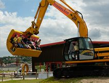 Diggerland in Devon - where children & adults can drive real diggers and so much more!