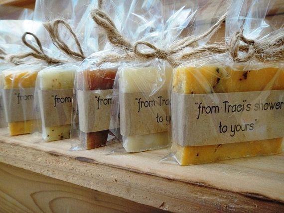 bridal shower favors organic favors natural soap bridalshowerfavors