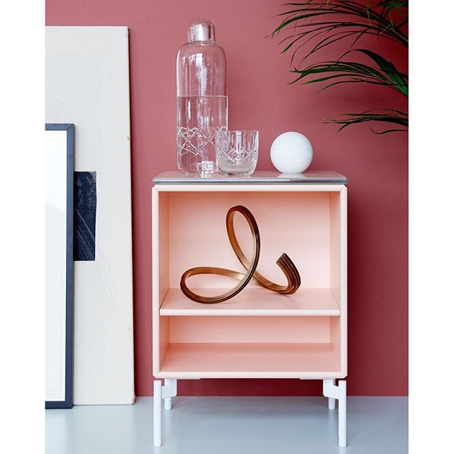 We will pick a winner today. Win the STAY side table. #montana #furniture #pink #inspiration #sidetable #danish #design